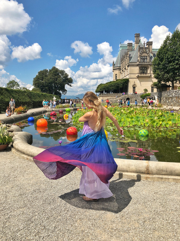 Family Trip to Chihuly at Biltmore Estate
