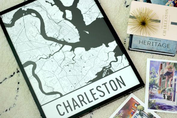 Decor: Modern Map Art