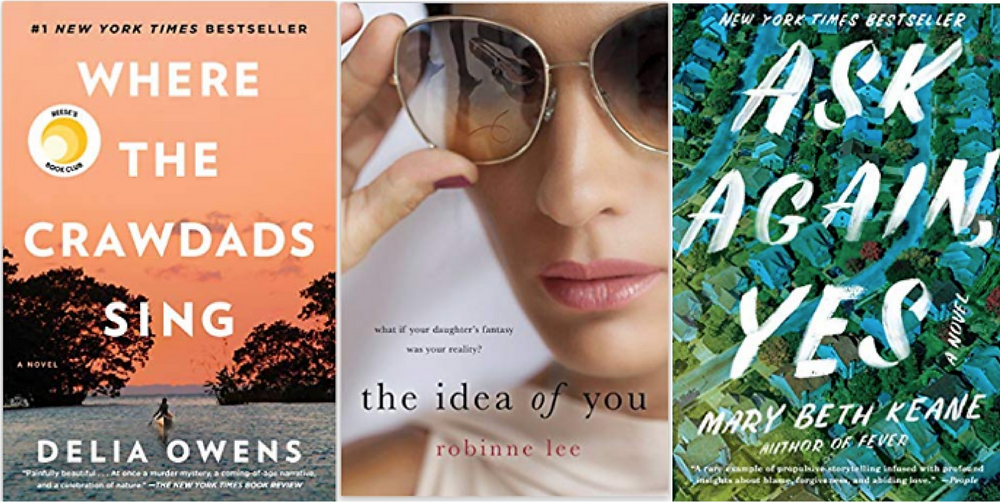 Best summer beach reads book list Where the crawdads sing, The Idea of You, Ask Again Yes