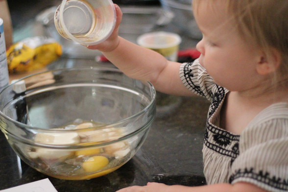 Toddler Time: Yogurt Cake from Bringing Up Bébé