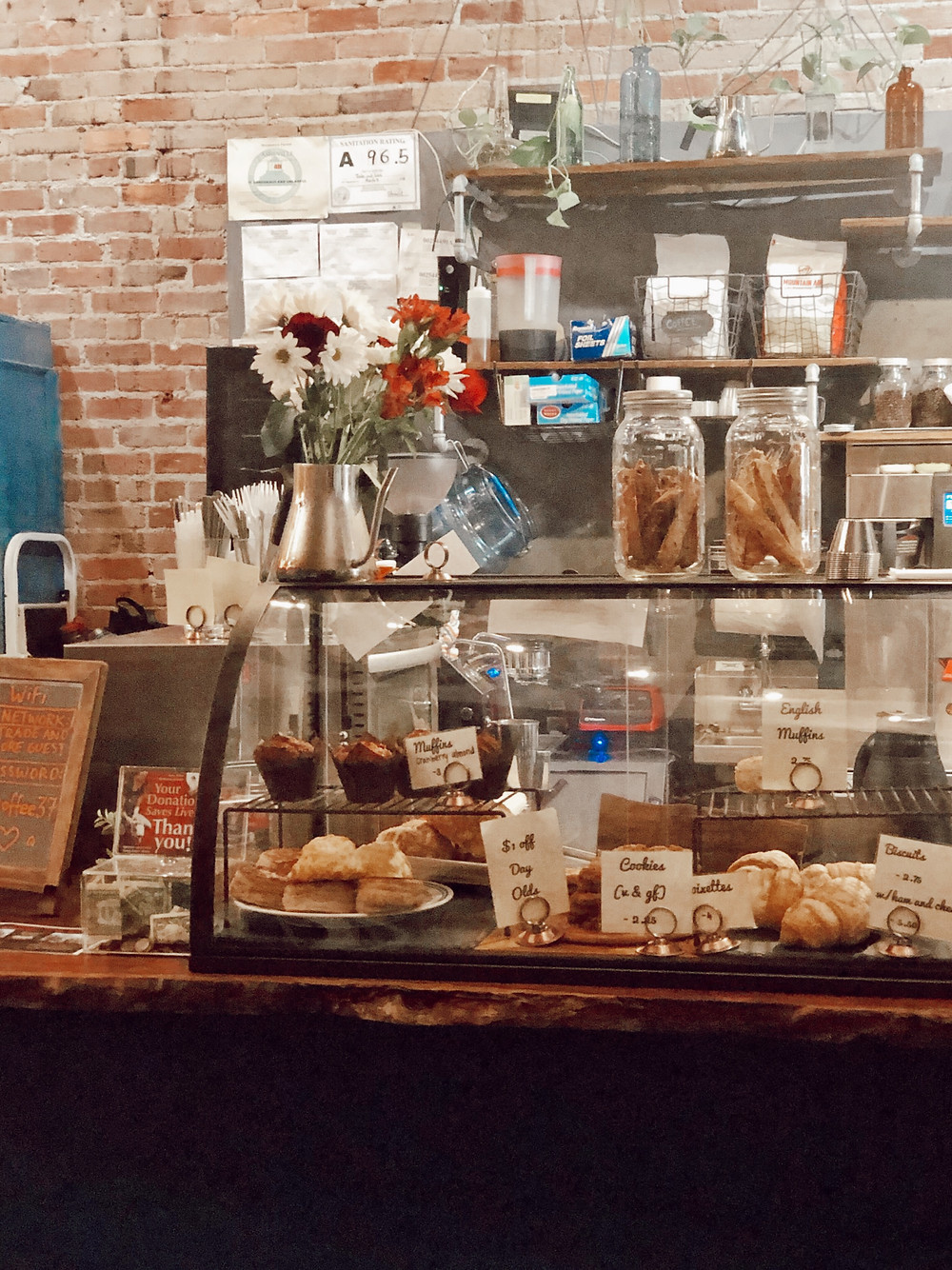 Trade and Lore Coffee Shop downtown Asheville