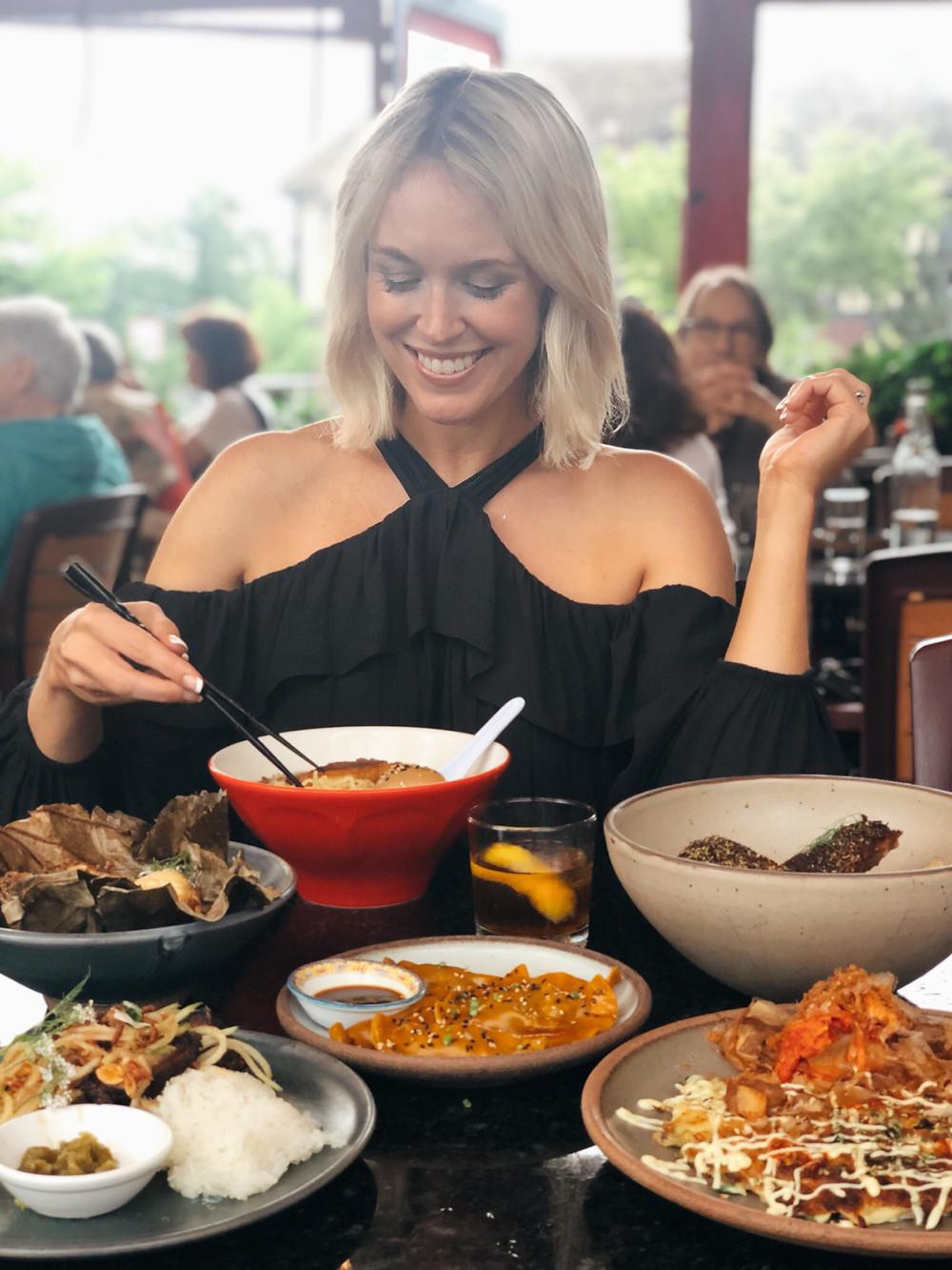 Gan Shan Station, Asheville restaurant, Asian food and fare, Visit Asheville, local favorite, best date night restaurant