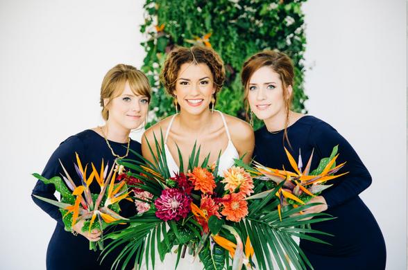 Look Inside: Tropical Wedding Styled Shoot