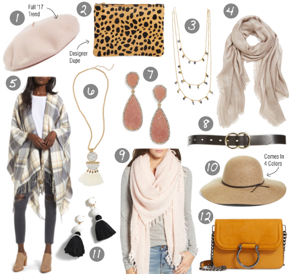 Frugal Friday: Fall Accessories