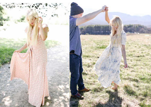 The Perfect Dress for Forever Photos