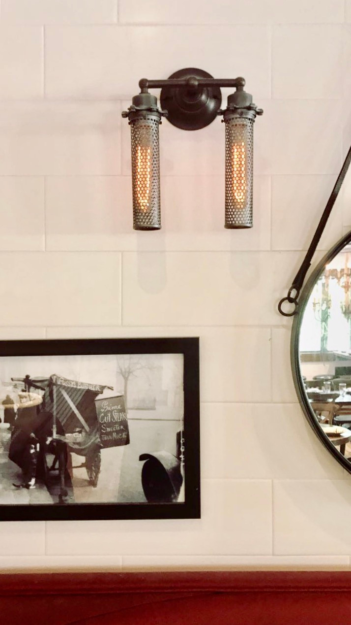 Filament Sconce at Kid Cashew in Charlotte NC