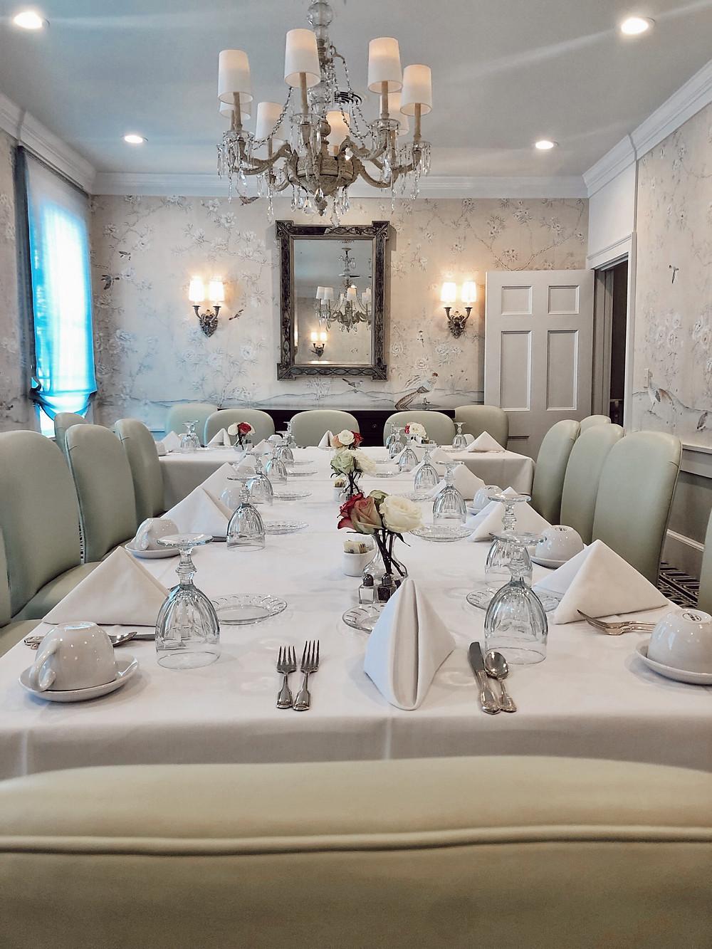 swan coach house dining room