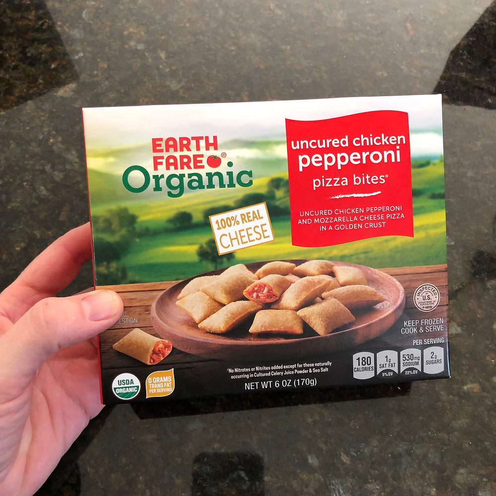 Earth Fare Organic Uncured Chicken Pepperoni Pizza Bites