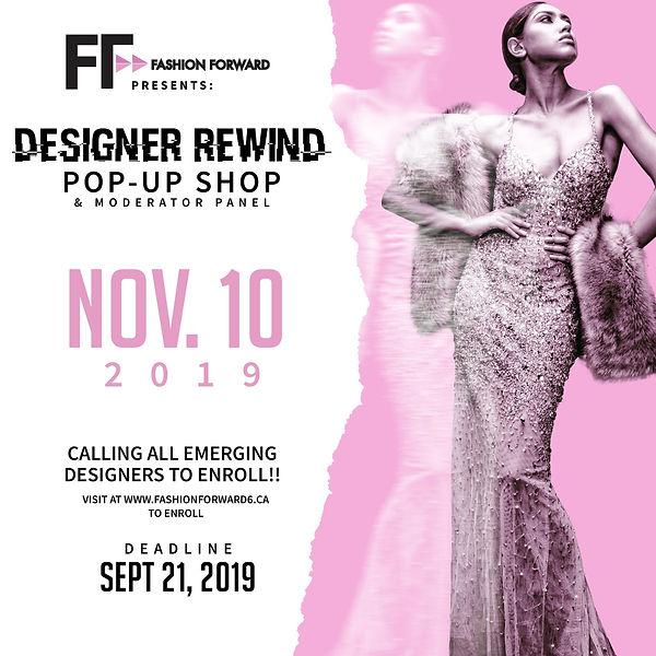 Fashion- Forward- Designer- Rewind- 2019