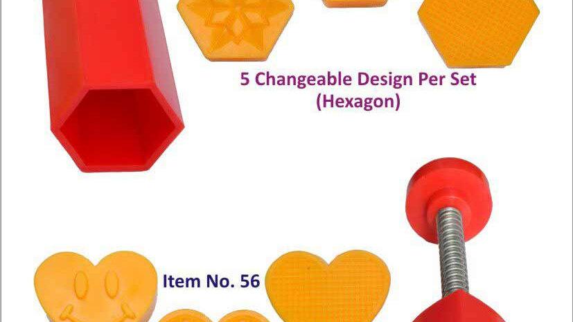 CHANGE SET (HEXAGON & HEART)