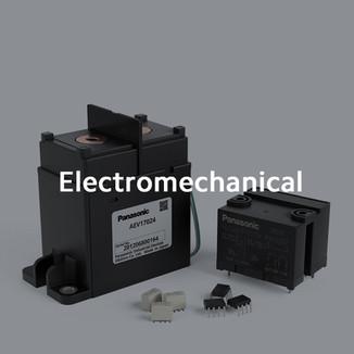 Relays, Switches, Connectors, Fuses, IC Sockets, Sensors and Activators