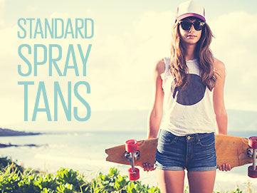 Standard Spray Tan (1 person)