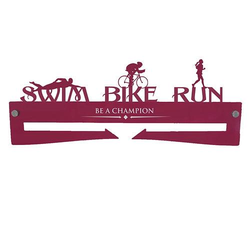 Medal Hanger - Swim Bike Run FEMALE