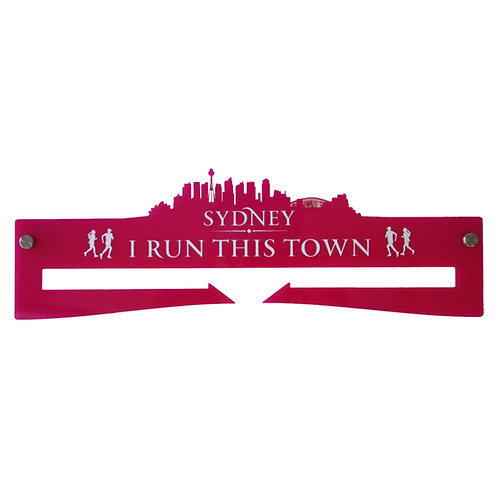 Medal Hanger - I Run This Town - Sydney
