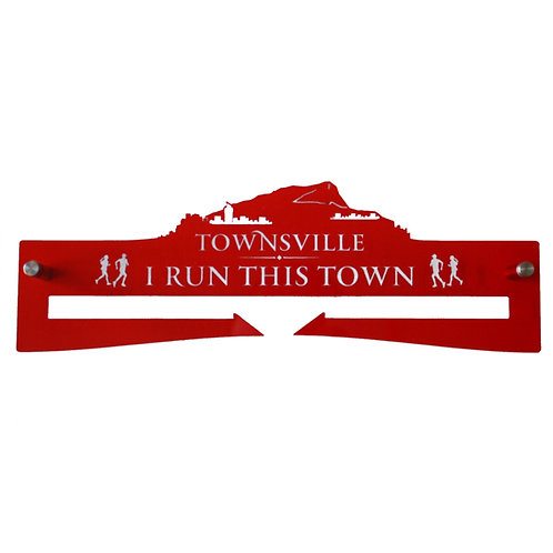 Medal Hanger - I Run This Town - Townsville