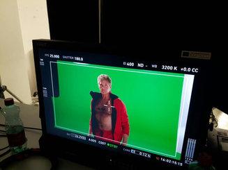 making of david hasselhoff imagefilm wien dockyard