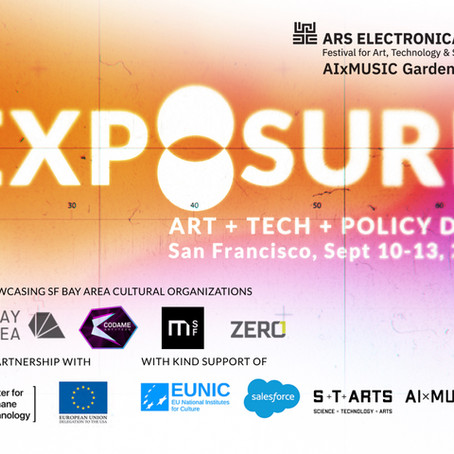 EXPOSURE - ART + TECH + POLICY Days 2020