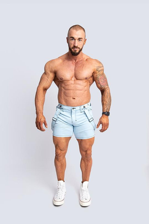 Tigerhorse Brent Beach Blue X-Stretch Short