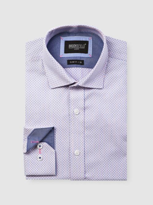 Brooksfield Micro Square Dobby Business Shirt