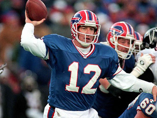 In 2008, we decided to honor Hall of Fame Buffalo Bills QB Jim Kelly