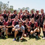 Red Heart Rum Rugby Team at Cape Town 10's