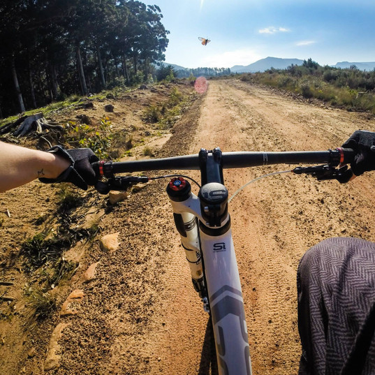 GoPro Mountain Biking in Cape Town,South Africa