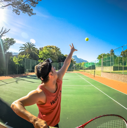 GoPro Tennis in Cape Town,South Africa