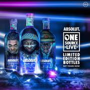 Absolut Vodka One Source Live
