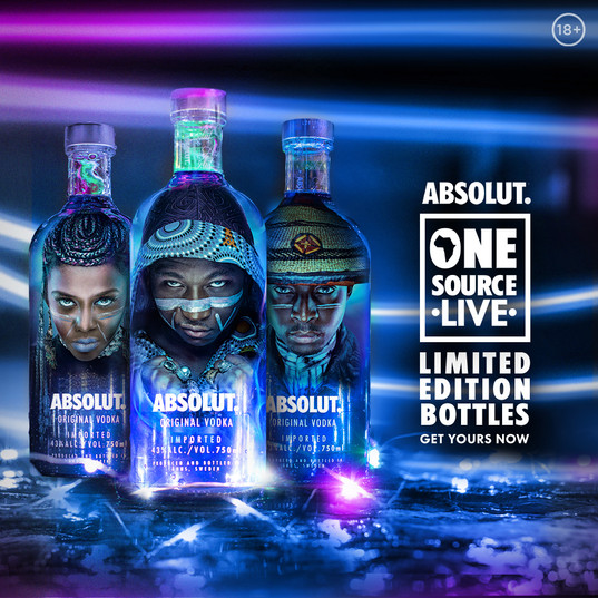 Absolut Vodka One Source Live