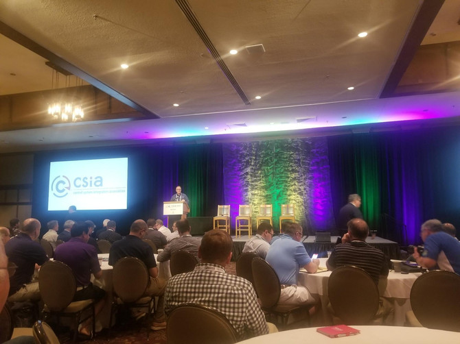 Great time at the 2019 CSIA Executive Conference in Ashville, NC.  What a powerful event to share in