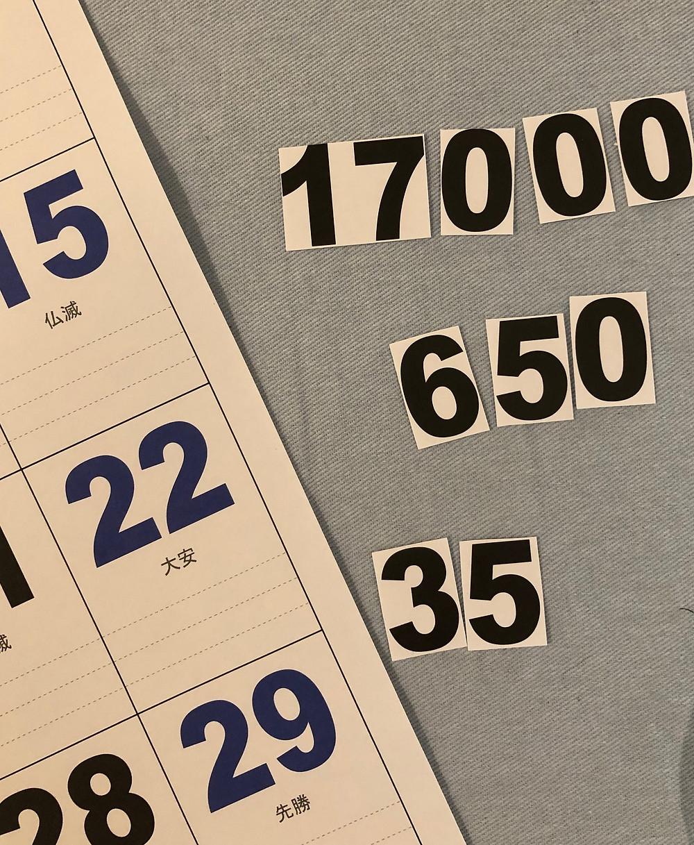 多摩市多摩センターの整体院身体均整堂からだやの数字