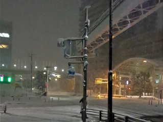 東京 雪の予報