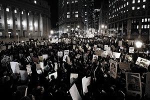 多摩市多摩センターの整体院からだやの黒人デモ写真