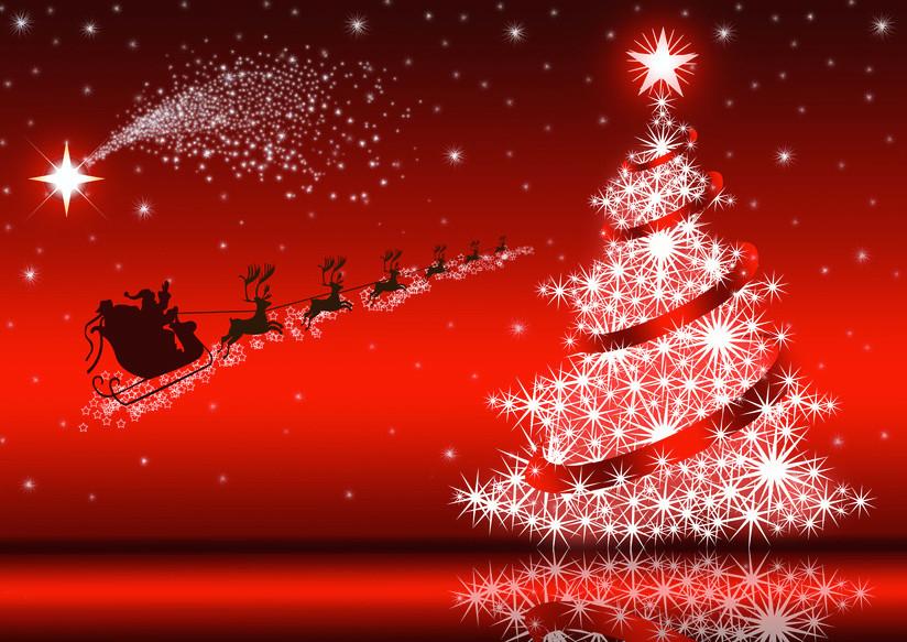 多摩市多摩センターの整体院身体均整堂からだやのクリスマス背景