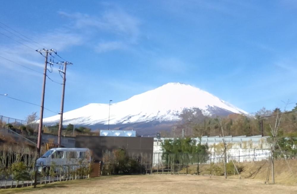 多摩市多摩センターの整体院からだやの富士山