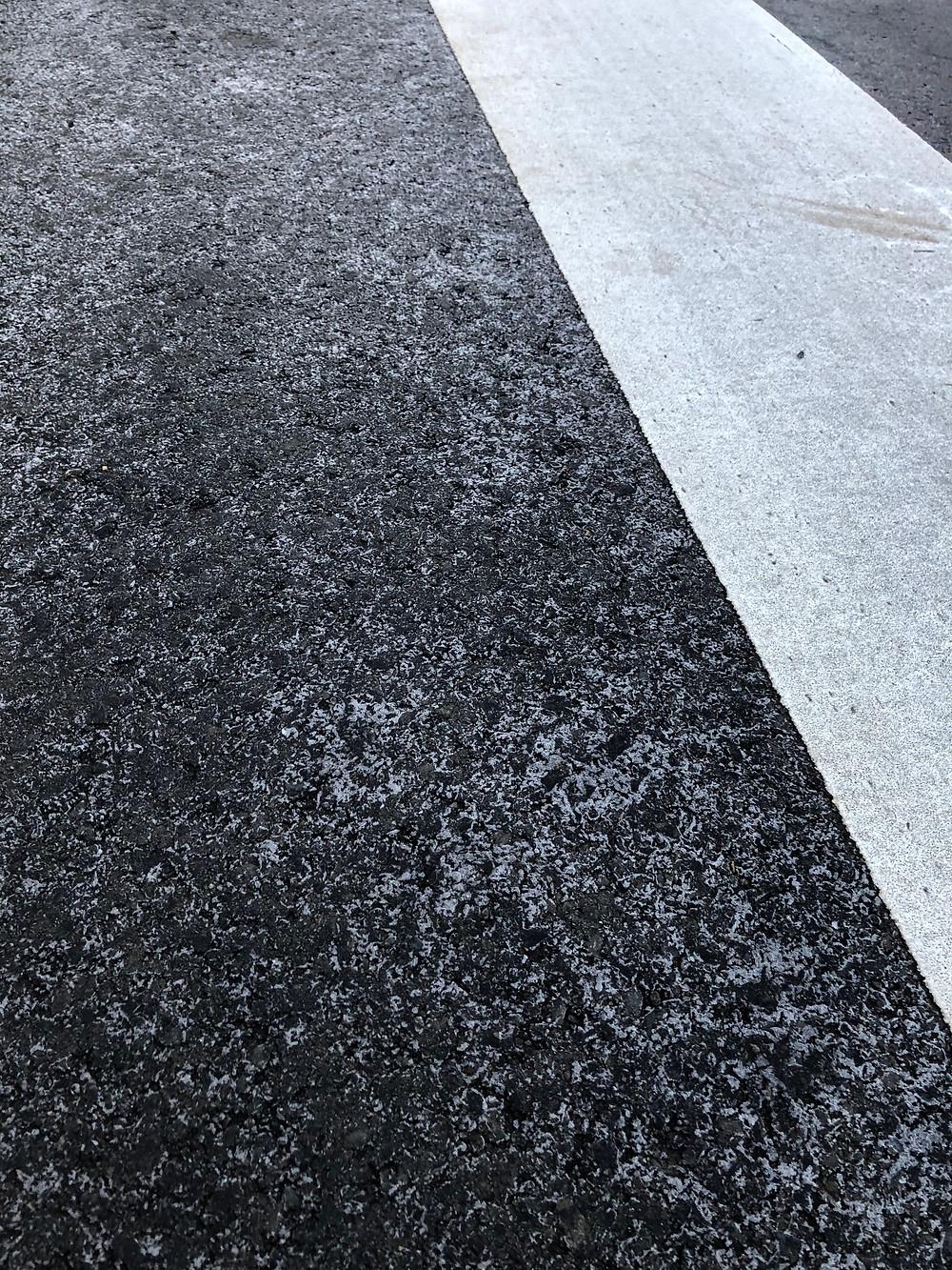 多摩市多摩センターの整体院身体均整堂からだやの路面凍結