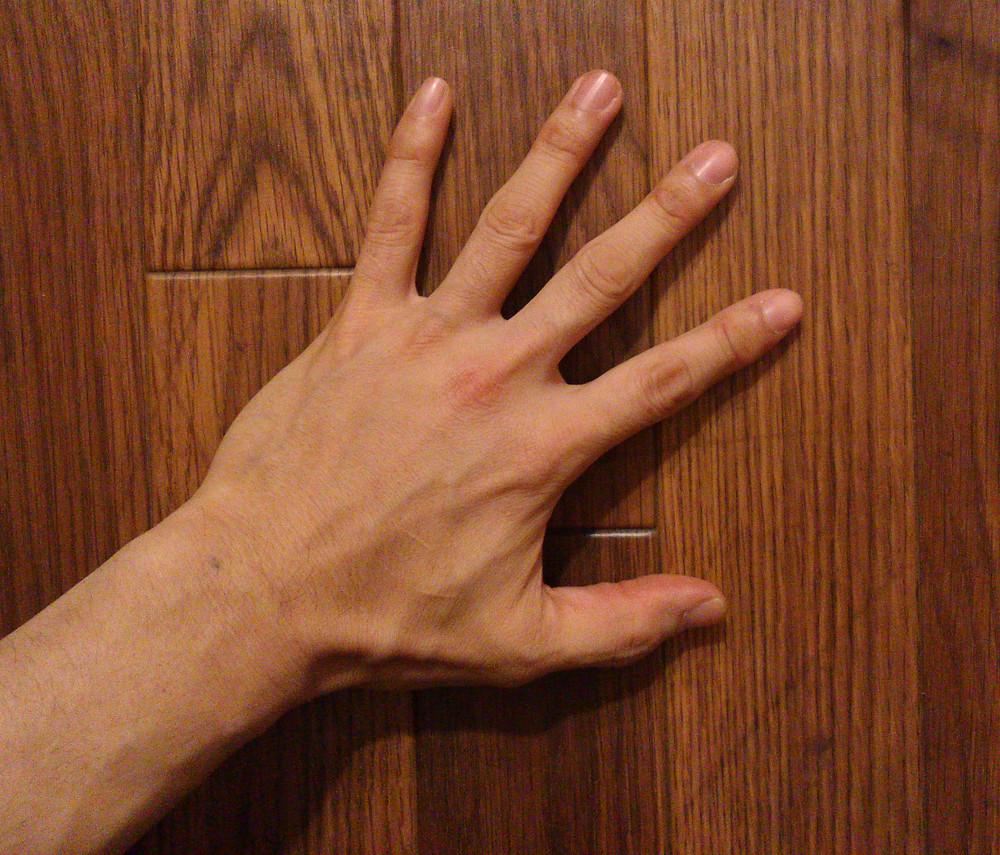 多摩市多摩センターの整体院身体均整堂からだやの手