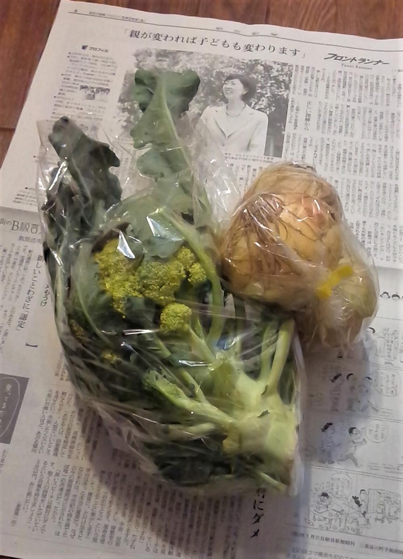 多摩市多摩センターの整体院身体均整堂からだやの野菜