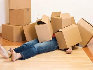 引っ越しが原因の腰痛