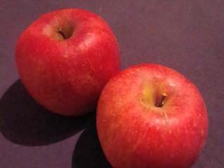 りんごを頂きました