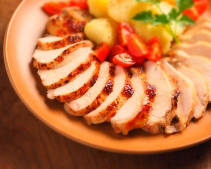 多摩市多摩センターの整体院身体均整堂からだやの鶏むね肉