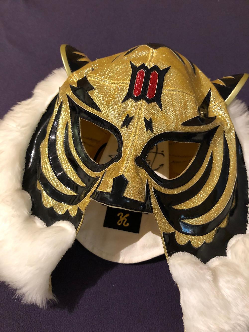 多摩市多摩センターの整体院身体均整堂からだやのタイガーマスク