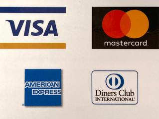 クレジットカード決済再開しました