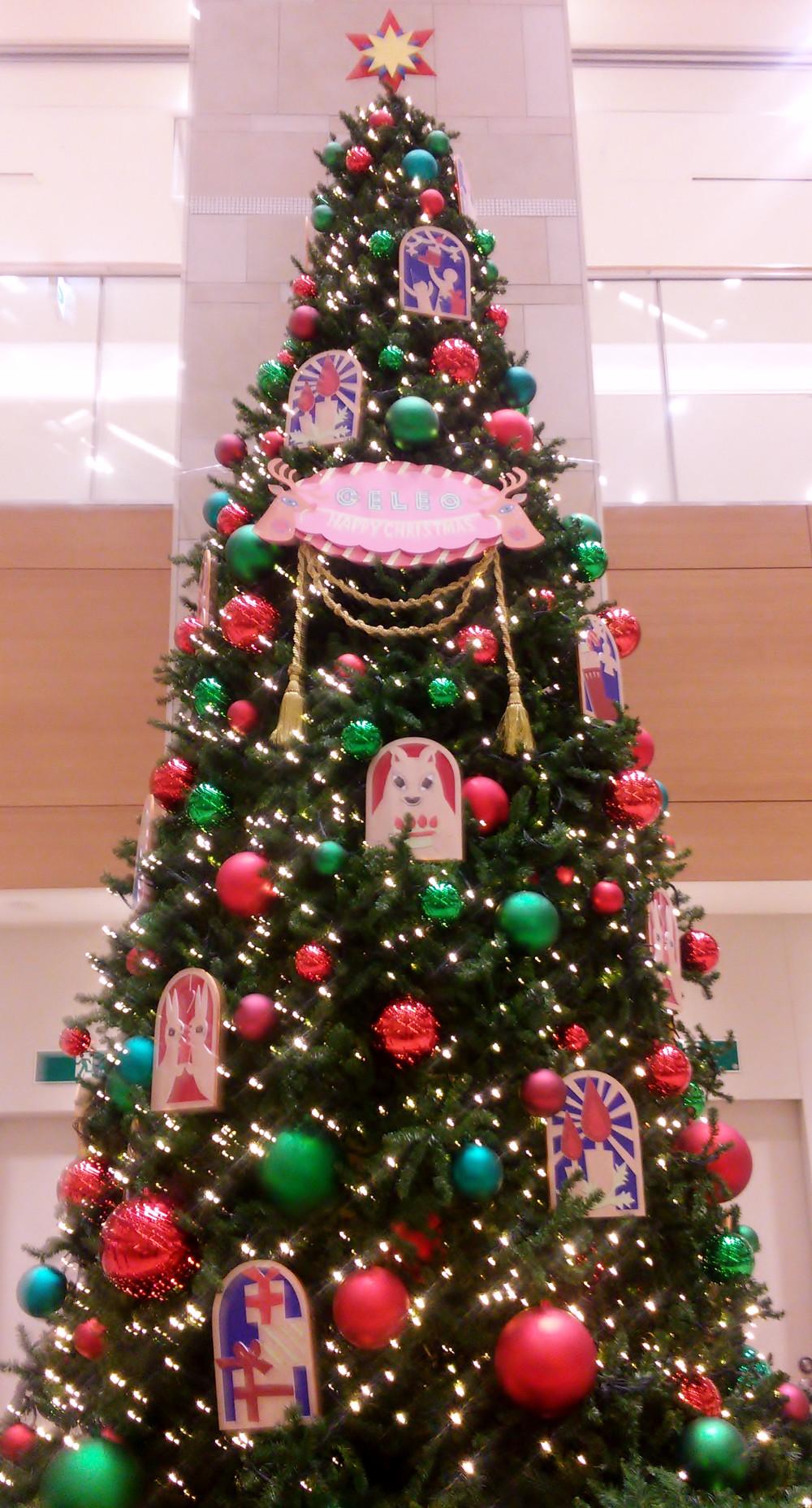 多摩市多摩センターの整体院からだやのセレオのクリスマス