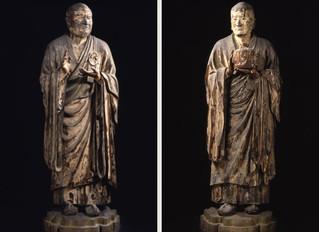 興福寺北円堂 無著・世親像