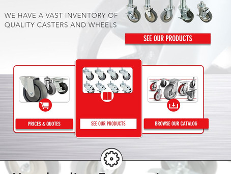 Casters for any job! Casters and Equipment...