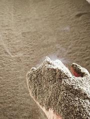 今日もふわふわホカホカの米ぬかです。_白い湯気が見えてるのわかりますか?__#米ぬか酵素風呂 #ホカホカ #ふわふわ #坂戸市 #デトックス