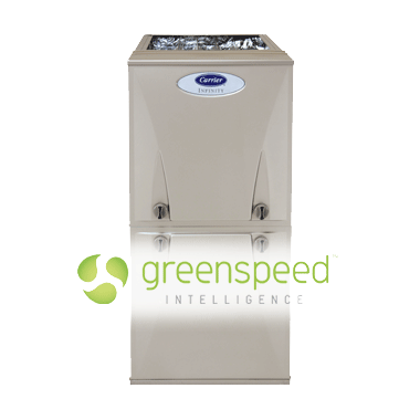 INFINITY® 98 GAS FURNACE WITH GREENSPEED™ INTELLIGENCE
