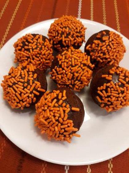 Chocolate Chocolate Chip Munchkins (baked)
