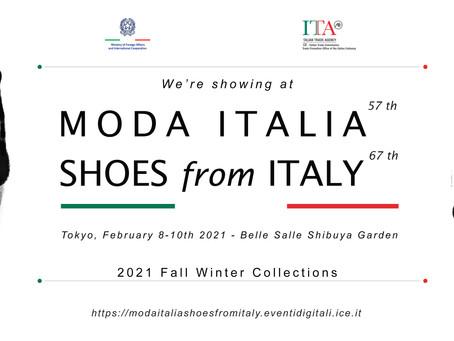 MODA ITALIA TOKYO February 2021.